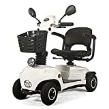 ACEDA Light And Compact, Foldable,4 Wheel Power Electric Travel And Mobility Scooter,Heavy Duty Transportable Scooter,Weight Capacity 140Kg