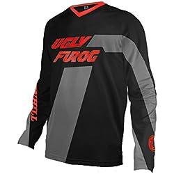 BurningBikewears Uglyfrog Manga Larga Térmico Invierno Downhill Jersey Enduro Offroad Ropa Maillot Ciclismo Camisa SJFRX02