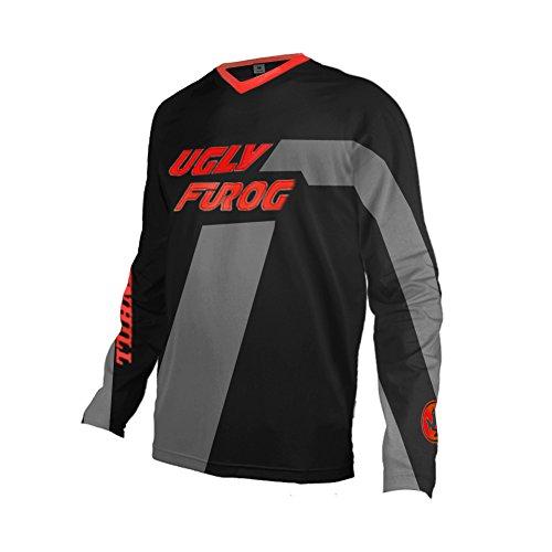 Uglyfrog 2018 Lange Ärmel Jersey Frühlingsart Motocross Jersey Herren Mountain Bike Downhill Shirt Sportbekleidung Kleidung (Wählen Rad-trikot Sie)