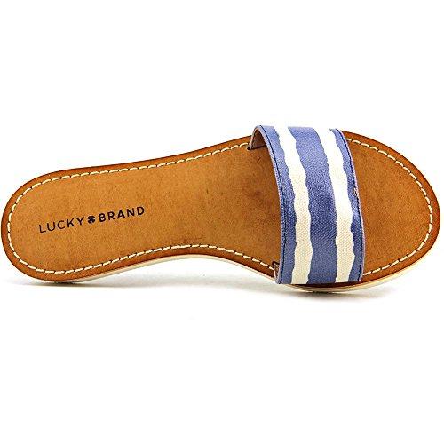Lucky Brand Deldonna Damen Synthetik Sandale Pntd Str Pt-Rvr/Ngri