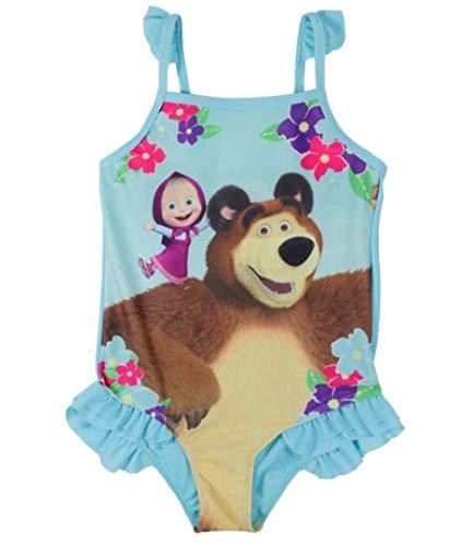 a7f17acdcea5 Masha and the Bear - Costume Due Pezzi - Ragazza Blue 2-3 Anni