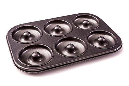 Donut-Backform– Donut- & Bagelform–frei von PFOA, für gesündere, selbstgebackene Donuts