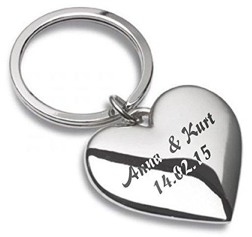 Herz,Schlüsselanhänger,Liebe,personalisiert,Gravur