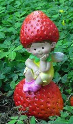 Wonderland Small Strawberry Girl Table top Decor (Table top/Home Accessories), Christmas Decor, Christmas Gift Item, Christmas Decoration, Christmas Decorations Items for Home, Christmas Special