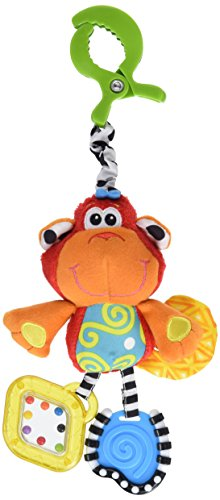 Playgro - Curly el mono, colgante musical (0182854)