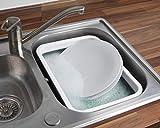 Laundry Beldray LA030191GRY Pieghevole vaschetta Rettangolare, Colore: Grigio