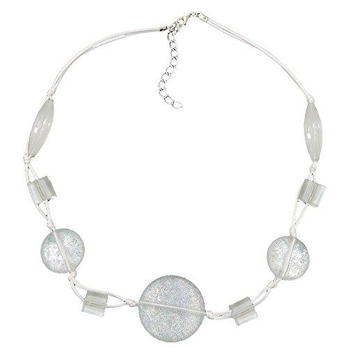 catena-disco-bianco-trasparente-pagliette