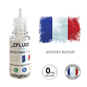 E-liquide Tabac Brun - E-FLUID 10ml - sans nicotine
