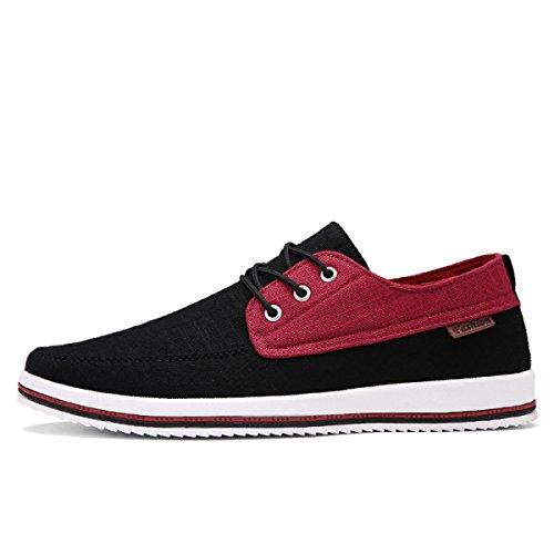 CHT Männer Des Sommers Beiläufige Schuhe Leinwand 2