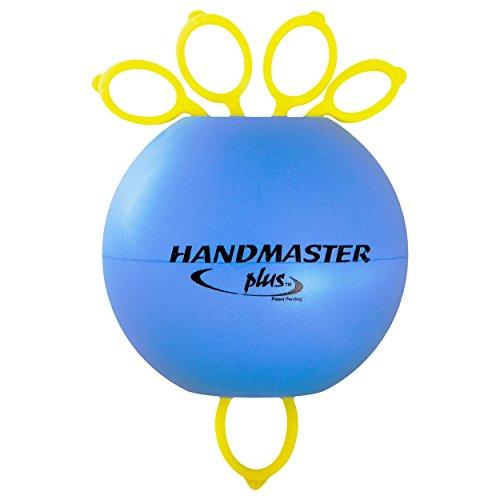 Handmaster Plus Handtrainer Fingertrainer Unterarmtrainer, leicht, BLAU