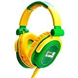 iDance FDJ 300 DJ-Kopfhörer grn/gelb