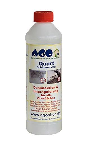 AGO ® Quart Schimmelstop 500ml Wirkt bis zu 18 Monate vorbeugend und aktiv gegen Schimmel! -