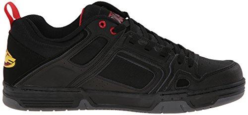 DVS Comanche, Chaussures de skateboard homme Noir (Blk/Fmf Gunny)