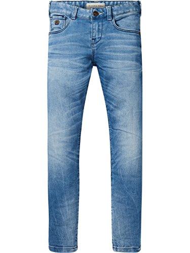 Scotch & Soda Jungen Jeans Strummer Sweat Denim-Light Indigo, Blau (Light Indigo 425), 116