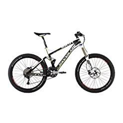 Shockblaze BK12SB0930 Skin Am Race Mountain Bike, Bianco