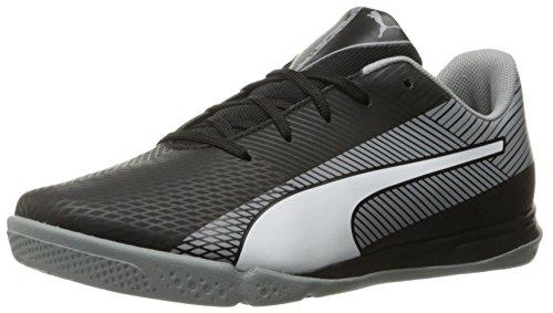 Big Star Schuhe (Puma evoSPEED Star S Junior Skate Shoe (Little Kid/Big Kid), Black/White/Quarry, 3 M US Little Kid)