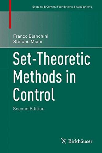 Set-Theoretic Methods in Control par Franco Blanchini