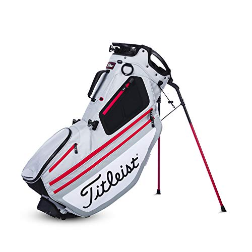 Titleist. Hybrid 14 Golf Cart & Standbag | 2 in 1 Grau