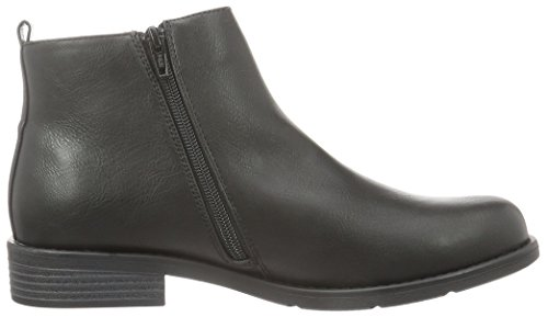 Bianco Zip Boot Son16, Bottes Classiques femme Noir - Schwarz (10/Black)