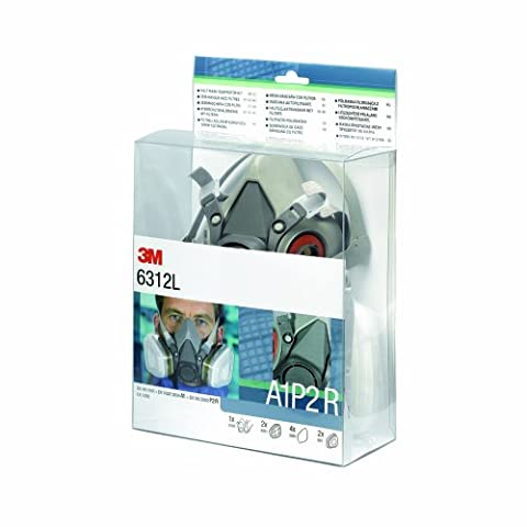 3M 6312L Reusable Comfort Single Half Mask with A1P2 Filter