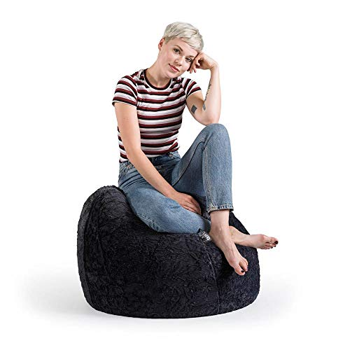 Sitzsack Fluffy XL ca. 220 Liter schwarz