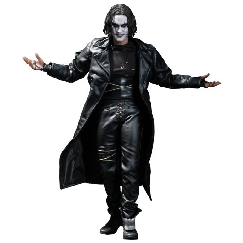 Hot Toys Movie Masterpiece Series - The Crow Eric Draven 30cm Collectible (Brobee Kostüme)