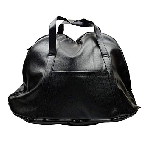Generp Wasserdichte Deluxe Motorradhelmtasche, langlebige Rittertasche Schutz Rucksack Aufbewahrungstasche Reisetasche Motorrad Helm Tasche