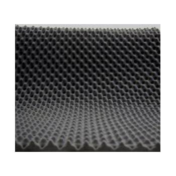 mail2mail Pyramiden-Schaumstoff-Daemmung-platten D/ämmung Schaumstoff Akustik Flammhemend PC ca.100 x 50 x 3 cm Anthrazit//Schwarz