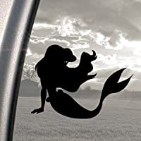 Disney Black Decal Little Mermaid Ariel Window Sticker