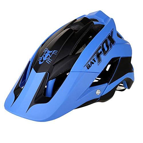 Lamptti Mountain Bike Helmet,Lightweight Adult RidingHelmet Protective Gear Safety Helmet for Outdoor Sport Riding Bike, 56-62CM Adjustable Anti-Vibration