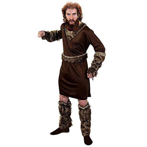 ILOVEFANCYDRESS I Love Fancy Dress Mittelalter-Kostüm Wikinger für Herren, ILFD4580M