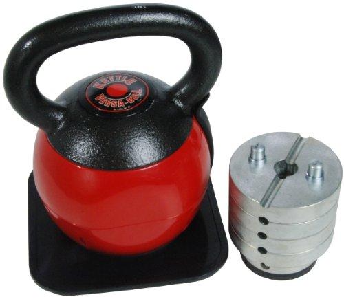 Staminax Ausdauer 36-Pound Kettlebell Einstellbar Versa-Bell