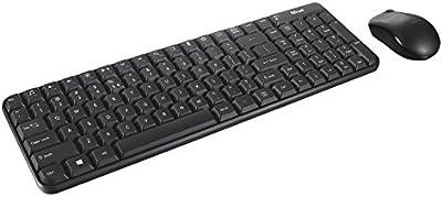 Trust 20036 - Pack de teclado y ratón inalámbricos