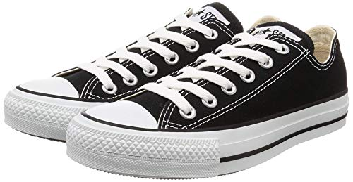 7b6e5675827 Converse Chuck Taylor All Star Season Ox, Zapatillas de Tela Unisex Adulto,  Negro,