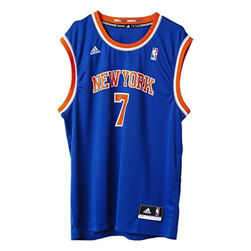 Carmelo Anthony (adidas Herren INT Replica Jrsy T-Shirt, Deep Steel, 2XS)