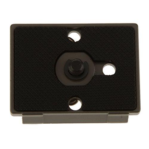 MagiDeal Schnellspanner Schnellwechselplatte Stativplatten Quick Release System für Manfrotto 200PL-14 486RC 486RC2...