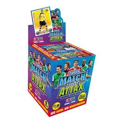 Match Attax 2009/2010 Display mit 100 Booster-Packs