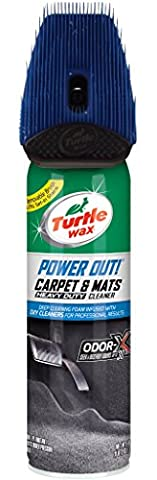 Turtle Wax T-244R1 Power Out! Carpet Cleaner and Odor Eliminator - 18 oz. by Turtle Wax