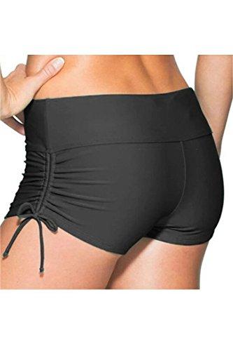 Sportbikini Pants Bikinihose Farbige Hotpants Badeshorts