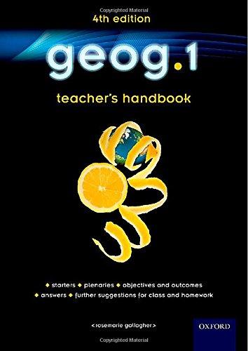 geog.1 Teacher's Handbook (Geog123 4th Edition)