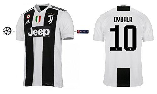 adidas group Trikot Kinder Juventus 2018-2019 Home UCL - Dybala 10 (140)