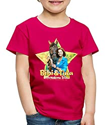 Bibi Und TinaTohuwabohu Total Amadeus Kinder Premium T-Shirt, 134/140 (8 Jahre), Dunkles Pink