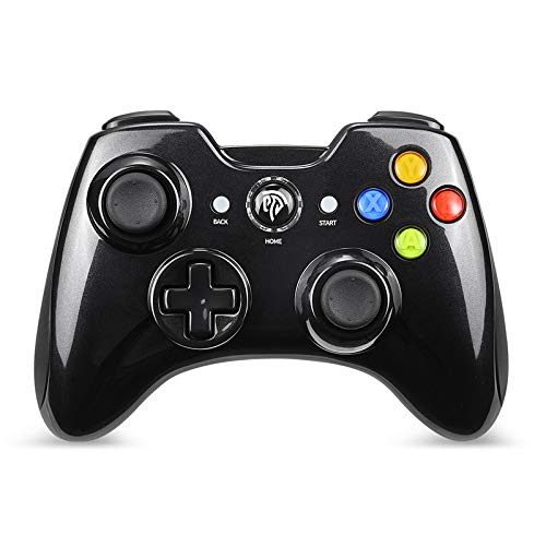 EasySMX Wireless Game Controller, KC-8236 2.4G Wireless Gamepad, Dual Vibration, 8 Stunden Spielzeit für PS3 / PC/Android Handys, Tablets, TV-Box