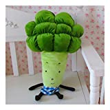 Yuhualiyi123 35cm-70cm Simulazione di Frutta e Verdura Carota Broccoli Giocattoli di Peluche Cuscino Creativo (Color : 35cm)