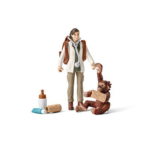 Preisvergleich Produktbild Schleich 42353 - Tierärztin im Einsatz - Spielzeug