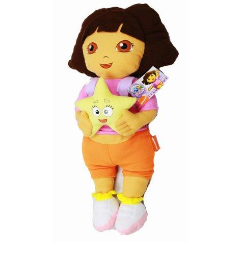 Kissen–Dora the Explorer–Dora W/STAR Schmusekissen New Geschenke Toys ded7222–3