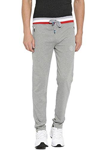 SPORTS 52 WEAR Men's Cotton Blended Trackpants S52W151092-N_L.Melange_36/XXL