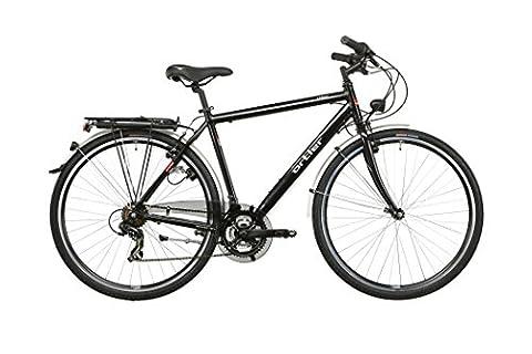 Ortler Lindau Herren schwarz glanz Rahmengröße 59 cm 2016 Trekkingrad
