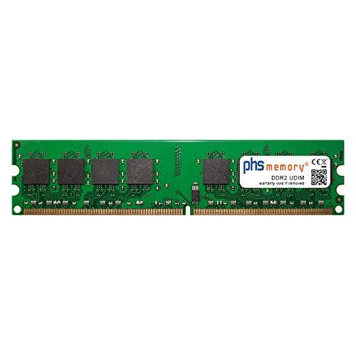 PHS-memory 2GB RAM Speicher für Packard Bell Rio 3 ECS RC415ST DDR2 UDIMM 800MHz PC2-6400U (Ecs-motherboard Ddr2)