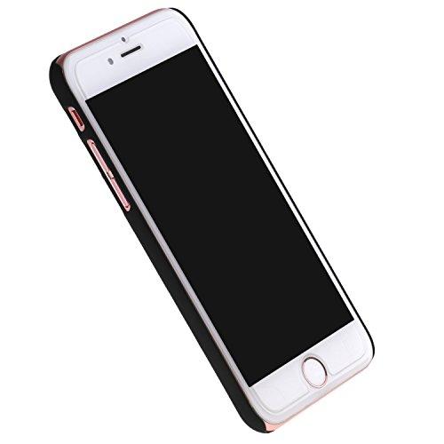 Cuitan Moda Couples Frosted Difficile Case Custodia per Apple iPhone 6 / 6S (4.7 Inch), Queen Crown Disegno Antigraffio Back Cover Protettivo Custodia Case Caso Cassa per iPhone 6 / 6S (4.7 Inch) - Ne Queen